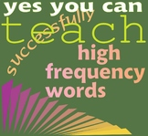 Stylized Sight Words: How to Teach