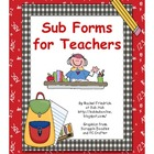 Sub Forms for Teachers