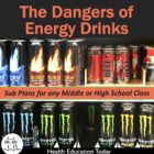 Sub Plans for Any High School Class FREE!: Energy Drinks D