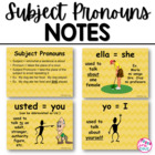 Subject Pronouns PowerPoint