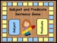 Subject and Predicate Sentence Game