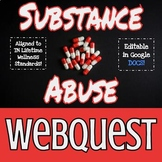 Substance Abuse Webquest Worksheet