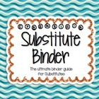 Substitute Binder - Blue Aqua Orange Creamsicle - The Ulti