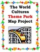 Substitute Lesson World Cultures Theme Park Map Project So
