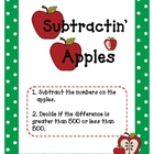 Subtractin' Apples: Subtracting Three-Digit Numbers