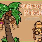 Subtracting Monkeys!  A Common Core Aligned Freebie!