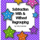 Subtracting Stars With and Without Regrouping