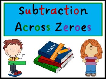 Subtraction Across Zeroes (PowerPoint) For Elementary