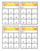 Subtraction Bingo Games - Numbers 0-20 - 6 pages