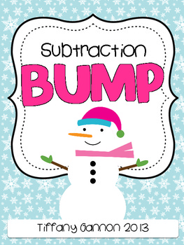 Subtraction Bump FREEBIE