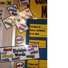 Subtraction - Division - Multiplication Key Words Posters