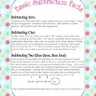 Subtraction Fact Strategies ~ When & how to teach subtraction