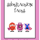 Subtraction Facts with Love Monsters