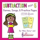 Subtraction From 5: Games, Songs & Practice Pages / 112 p