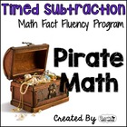 Subtraction Math Facts Timed Tests-&quot;Pirate Math&quot;
