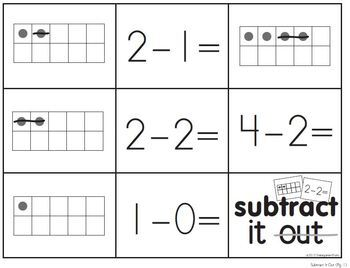 Subtraction Memory (within 5)