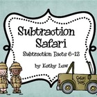 Subtraction Safari Games