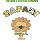 Subtraction Safari Mini Unit K-2 (1.OA.6)