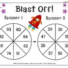 Subtraction Spinners - Differentiated