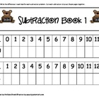 Subtraction Strip Book