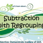 Subtraction With Regrouping (PowerPoint) For Elementary