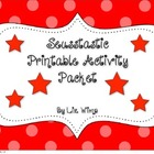 Suesstastic Printable Activity Packet