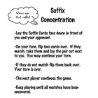 Suffix Concentration