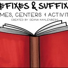 Suffixes and Prefixes Activity Pack