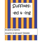Suffixes -ed and -ing: Wilson Fundations Unit 13