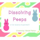 Sugary Sweet Dissolving Peeps- {A Fun Science Experiment}