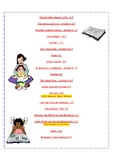 Suggested Literature for Grades 3 - 8