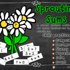 Sum Number Sentences Flower Power