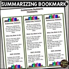 Summarizing - Reading Comprehension Strategy Bookmark