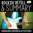 Summary Centers + Activities {Rockin' Retell}