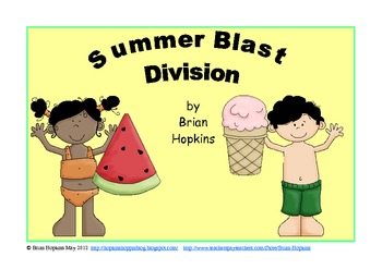 Summer Blast Division Strategy Game