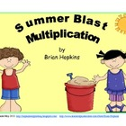 Summer Blast Multiplication Strategy Game