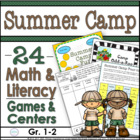 Summer Camp Fun: Literacy &amp; Math Activities for Your Summe