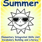 Summer; English Skills Unit, High Basic ELLs, Grades 3- Up