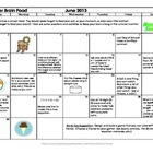 """Brain Food"" - Summer Enrichment Activities K-3"