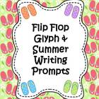 Summer Flip Flop Glyph & Writing Activities