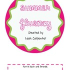 Summer Fluency