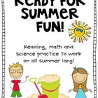 Summer Fun Academic Calendar (math, science, reading)