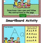 Summer Fun Alphabet Flip Chart SmartBoard Activity