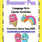 Summer Fun Literacy Pack