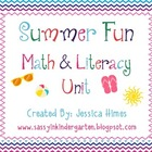 Summer Fun Math &amp; Literacy Unit