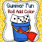 Summer Fun Roll Add Color Freebie