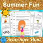Summer Fun Scavenger Hunt