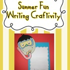 Summer Fun Writing Craftivity