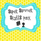 Summer Homework Pack (Common Core Aligned)