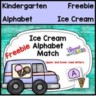 Summer Ice Cream Alphabet Match